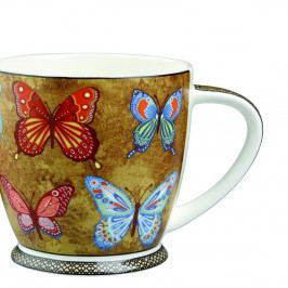 Hrnček z kostného porcelánu Churchill China Hidden Golden Monarch, 350 ml