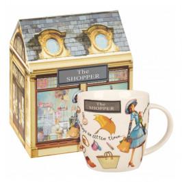 Hrnček z kostného porcelánu Churchill China The Shopper, 400 ml