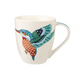 Hrnček z kostného porcelánu Churchill China Paradise Birds Kingfisher, 500 ml