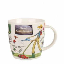 Hrnček z kostného porcelánu Churchill China At Your Leisure Head Gardener, 400 ml