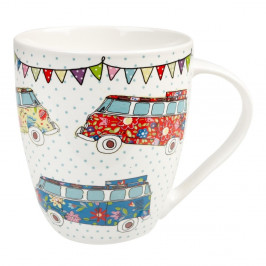 Hrnček z kostného porcelánu Churchill China Caravan Campers, 500 ml