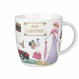 Hrnček z kostného porcelánu Churchill China At Your Leisure Her Ladyship, 400 ml