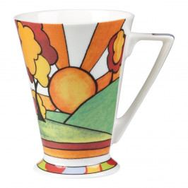 Hrnček z kostného porcelánu Churchill China Classic Sun Sunburst, 230 ml
