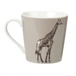 Hrnček z kostného porcelánu Churchill China Couture Kingdom Giraffe, 325 ml