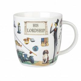Hrnček z kostného porcelánu Churchill China At Your Leisure His Lordship, 400 ml