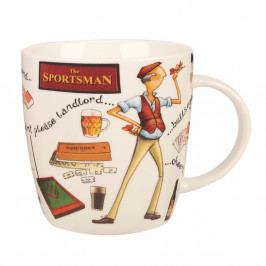 Hrnček z kostného porcelánu Churchill China At Your Leisure The Sportsman, 400 ml
