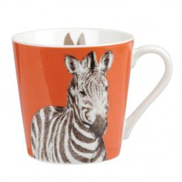 Hrnček z kostného porcelánu Churchill China Couture Kingdom Zebra, 325 ml
