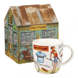Hrnček z kostného porcelánu Churchill China At Your Leisure The Cyclist, 400 ml