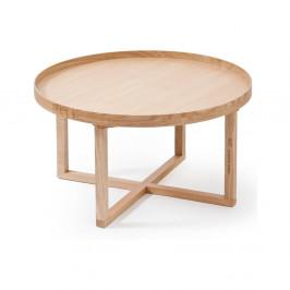 Okrúhly drevený stolík Wireworks Round