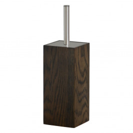 Toaletná kefa z dubového dreva Wireworks Mezza Dark