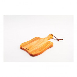 Doska na krájanie z olivového dreva Bisetti Olive, 34×19cm