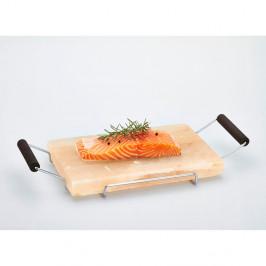 Servírovací podnos zo soľnej dosky Bisetti Salt Plate, 22×45cm