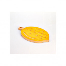 Buková doska na krájanie Bisetti Lemon, 21×34 cm