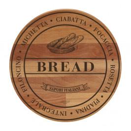 Doska na krájanie z bukového dreva Bisetti Broad Bread, 30 cm