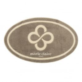 Béžová kúpeľňová predložka Marie Claire, 66 × 107 cm