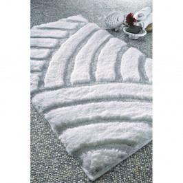 Biela predložka do kúpeľne Confetti Bathmats Karya, 60×100cm