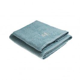 Sada 2 modrých uterákov Samantha