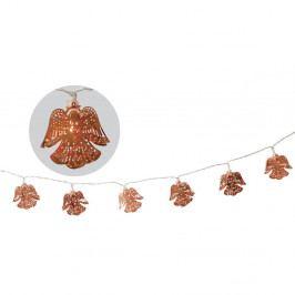 Vianočná svetelná reťaz s motívmi anjelov Naeve, dĺžka 120 cm