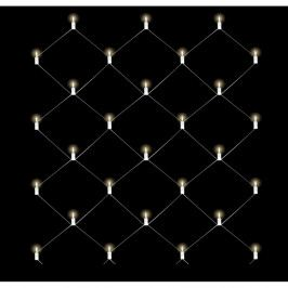 Svetelná sieť Naeve Party, 240 × 240 cm