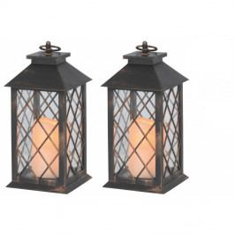 Sada 2 vonkajších lampášov Naeve Deco
