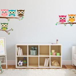 Samolepka Ambiance Magic Owls