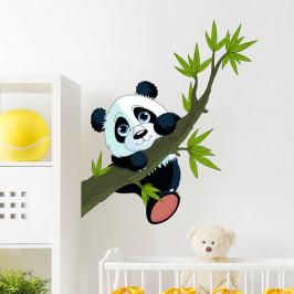 Samolepka Ambiance Panda On Branches