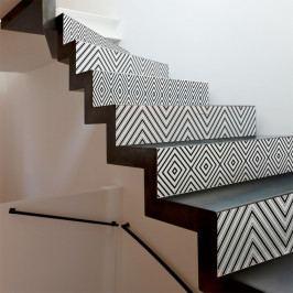 Sada 2 samolepiek na schody Ambiance Thora, 15×105 cm