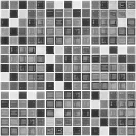 Sada 9 dekoratívnych samolepiek na stenu Ambiance Shade of Grey, 20×20 cm