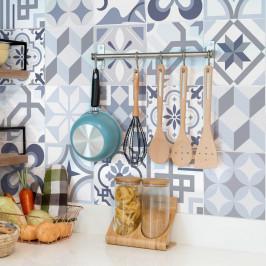Sada 24 dekoratívnych samolepiek na stenu Ambiance Spa, 15×15 cm