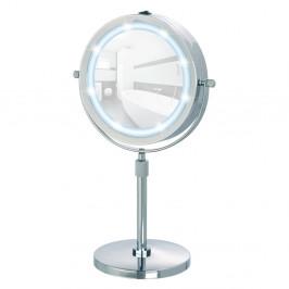 Zväčšovacie stolové zrkadlo s LED svetlom Wenko Lumi