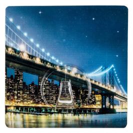 Samodržiaci háčik Wenko Static-Loc Brooklyn Bridge