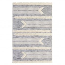 Sivý koberec Mint Rugs Handira Arrow, 150 × 77 cm
