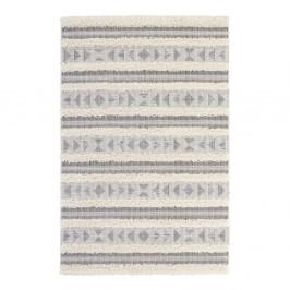 Sivý koberec Mint Rugs Handira Tribal Stripes, 155 × 230 cm