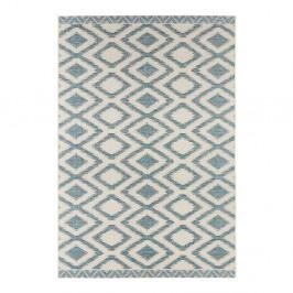 Modro-sivý koberec vhodný aj do exteriéru Kalora, 140×200cm