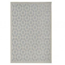 Sivý koberec vhodný aj do exteriéru Botany, 160×230cm