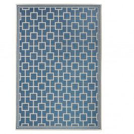 Modrý koberec vhodný aj do exteriéru Botany, 160×230cm