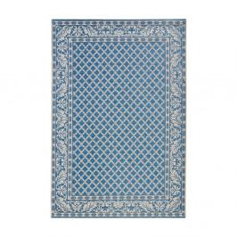 Modrý koberec vhodný aj do exteriéru Royal, 115×165cm