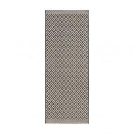 Čierno-béžový behúň Zala Living Minnia, 76×200cm