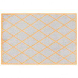 Sivo-oranžová rohožka Zala Living Scale, 50×70 cm