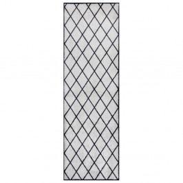 Sivo-čierny behúň Zala Living Magic Scale, 50×150 cm