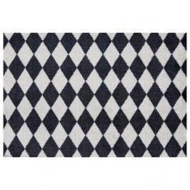 Čierno-sivá rohožka Zala Living Circus, 50×70 cm