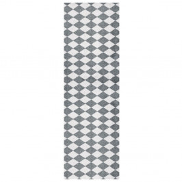 Sivo-biely behúň Zala Living Magic Circus, 50×150 cm