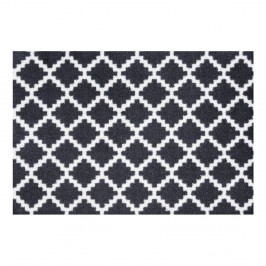 Čierno-biela rohožka Zala Living Elegance, 50×70 cm