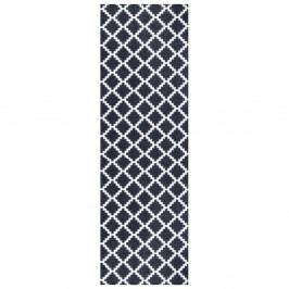 Čierno-biely behúň Zala Living Magic Elegance, 50×150 cm
