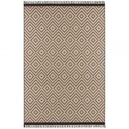 Béžovo-čierny koberec Hanse Home Intense Sulo, 200×290 cm