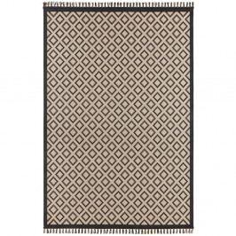 Béžovo-čierny koberec Hanse Home Intense Muro, 133×195 cm