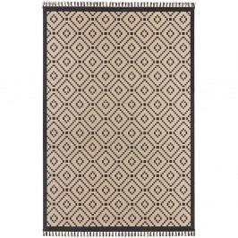 Béžovo-čierny koberec Hanse Home Intense Furo, 200×290 cm