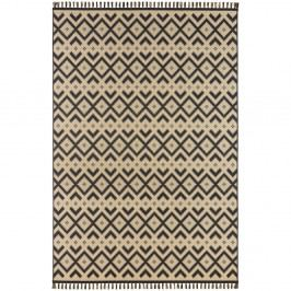 Béžovo-čierny koberec Hanse Home Intense Kuro, 160×230 cm
