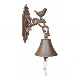 Liatinový nástenný zvon v darčekovom balení Esschert Design Birdy