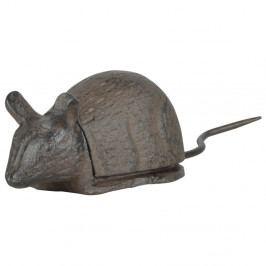 Liatinová skrýša na kľúče v tvare myši Esschert Design